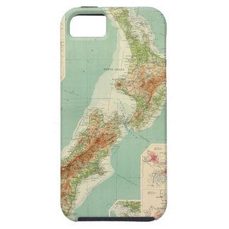 New Zealand Atlas Map iPhone SE/5/5s Case