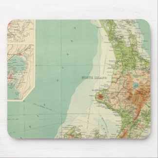 New Zealand Atlas Map Mouse Pad
