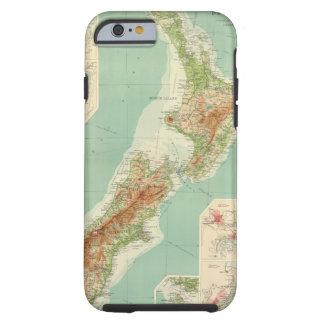 New Zealand Atlas Map Tough iPhone 6 Case