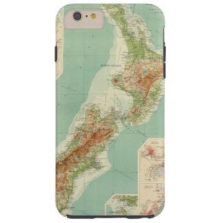 New Zealand Atlas Map Tough iPhone 6 Plus Case