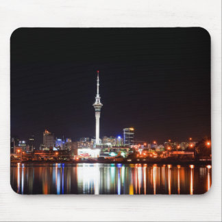 New Zealand: Auckland at Night Mouse Pads