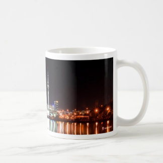 New Zealand: Auckland at Night Coffee Mugs