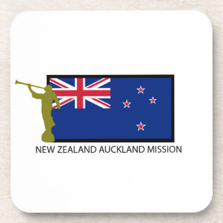 NEW ZEALAND AUCKLAND MISSION LDS CTR BEVERAGE COASTER