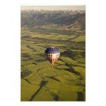 New Zealand Balloon Flight Photograph