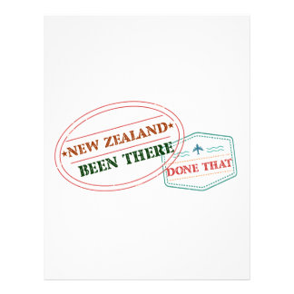 New Zealand Been There Done That Letterhead