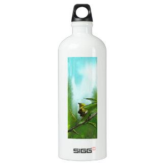 New Zealand Bellbird Aluminum Water Bottle