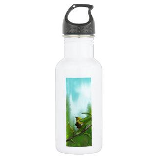 New Zealand Bellbird Water Bottle