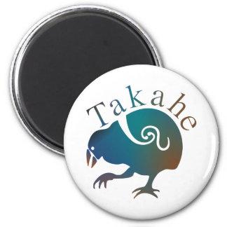 New Zealand Bird TAKAHE Fridge Magnet