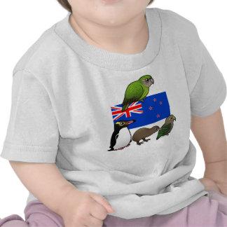 New Zealand Birdorables T-shirts