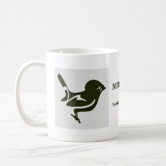 New Zealand birds Miromiro cup Basic White Mug