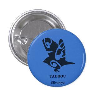 NEW ZEALAND birds Tauhou Silvereye 1 Inch Round Button
