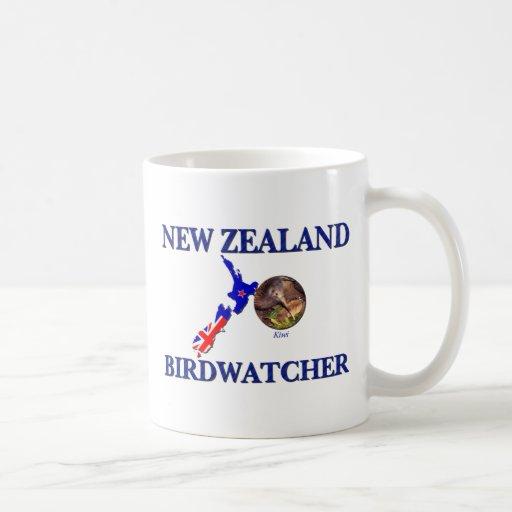New Zealand Birdwatcher Classic White Coffee Mug