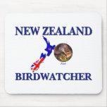 New Zealand Birdwatcher Mouse Pad