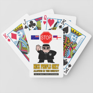 NEW ZEALAND BORDER CONTROL BICYCLE PLAYING CARDS