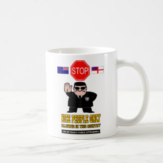 NEW ZEALAND BORDER CONTROL COFFEE MUG