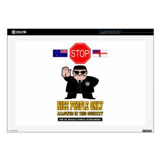 "NEW ZEALAND BORDER CONTROL 17"" LAPTOP SKIN"