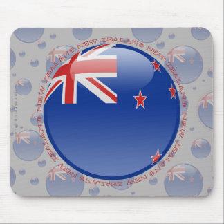 New Zealand Bubble Flag Mouse Pad