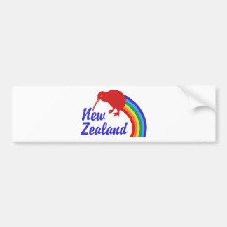 New Zealand Bumper Sticker