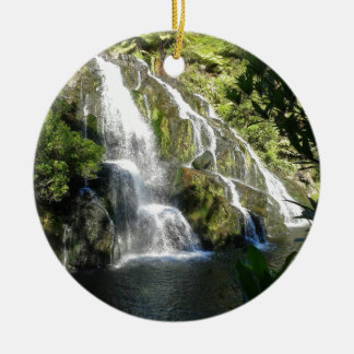 New Zealand by Nature Double-Sided Ceramic Round Christmas Ornament