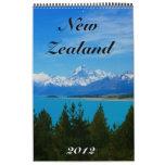 new zealand calendar 2012