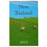 new zealand calendar 2013