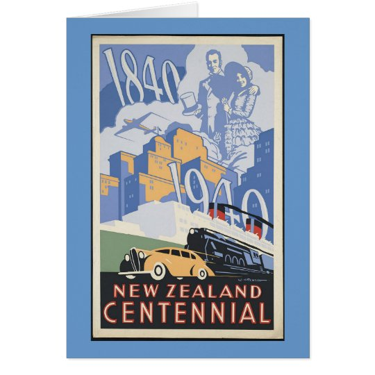New Zealand Centennial Card