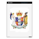 New Zealand Coat Of Arms Decal For iPad 2