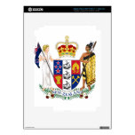 New Zealand Coat Of Arms Decals For iPad 3