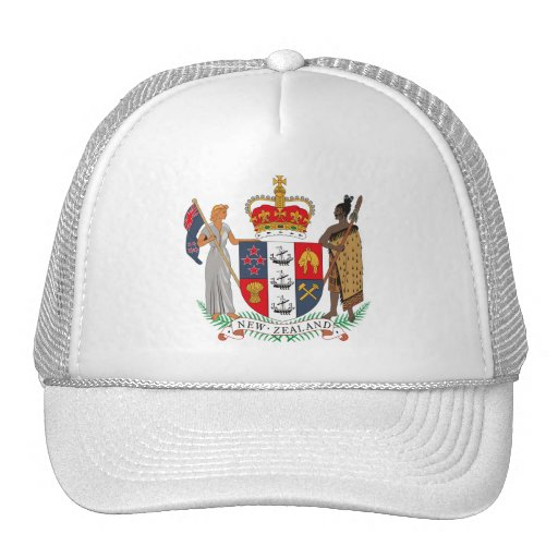 New Zealand Coat of Arms Hat