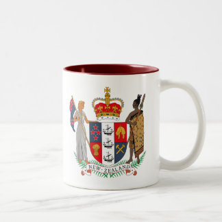New Zealand Coat of Arms Mug