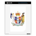 New Zealand Coat Of Arms NOOK Color Skin