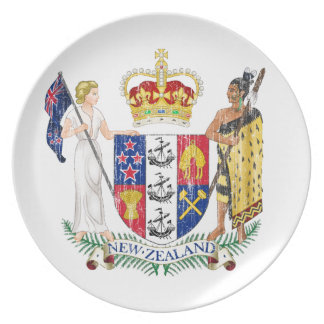 New Zealand Coat Of Arms Plates