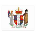 New Zealand Coat of Arms Postcard