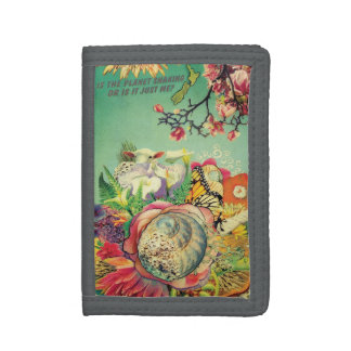 New Zealand collage Tri-fold Wallet