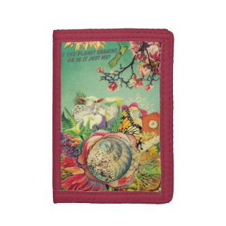 New Zealand collage Trifold Wallet