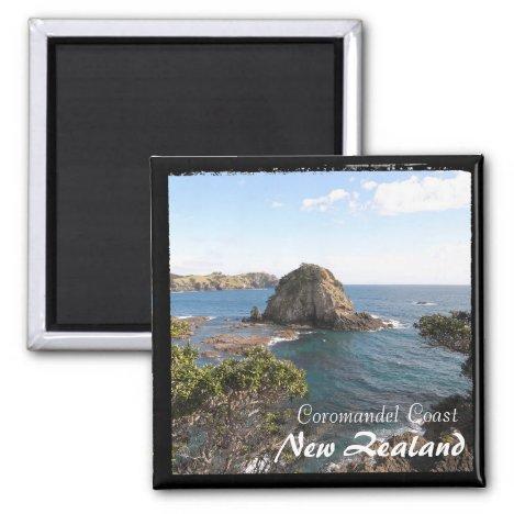 New Zealand, Coromandel Coast, Island (Magnet)