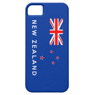new zealand country flag symbol name text iPhone SE/5/5s case