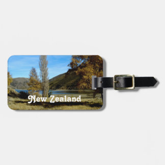 New Zealand Countryside Travel Bag Tags