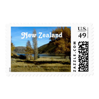 New Zealand Countryside Postage Stamps