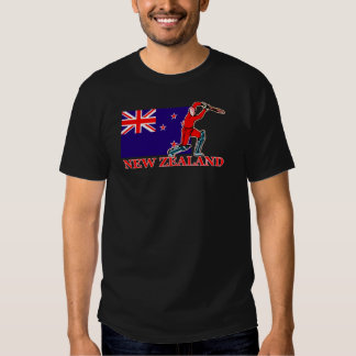 New Zealand Cricket Player T-Shirt