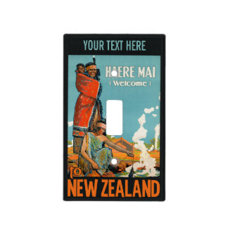 New Zealand custom light switch cover