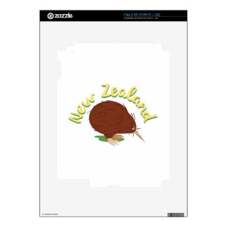 New Zealand Decal For iPad 2