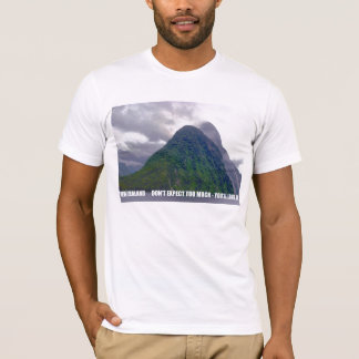 New Zealand Don't Expect Too Much - You'll Love It T-Shirt