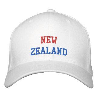 New Zealand Embroidered Baseball Cap