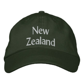 New Zealand Embroidered Baseball Hat