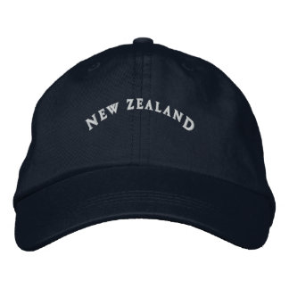 New Zealand embroidered cap