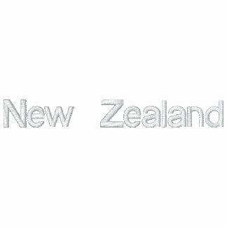 NEW ZEALAND Embroidered Patriotic Jacket