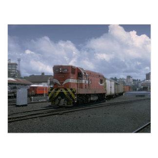 New Zealand, EMD export road unit Postcard