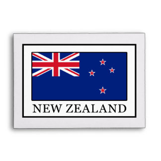 New Zealand Envelope