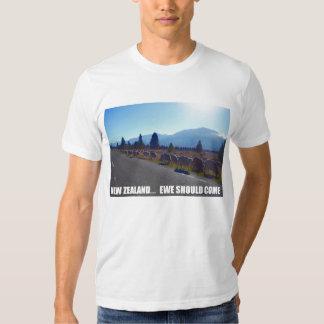 New Zealand... Ewe Should Come Tee Shirt